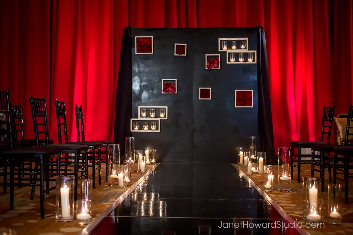 Valentino Ceremony Decor