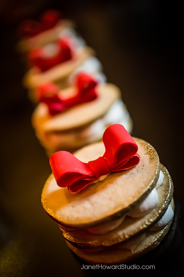 Valentino inspired desserts by Sift!