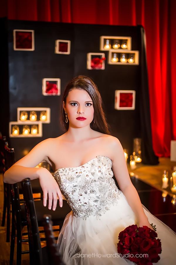 Valentino inspired wedding