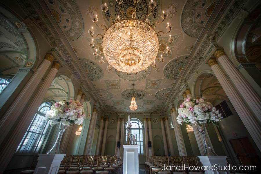Wedding ceremony at Biltmore Ballrooms