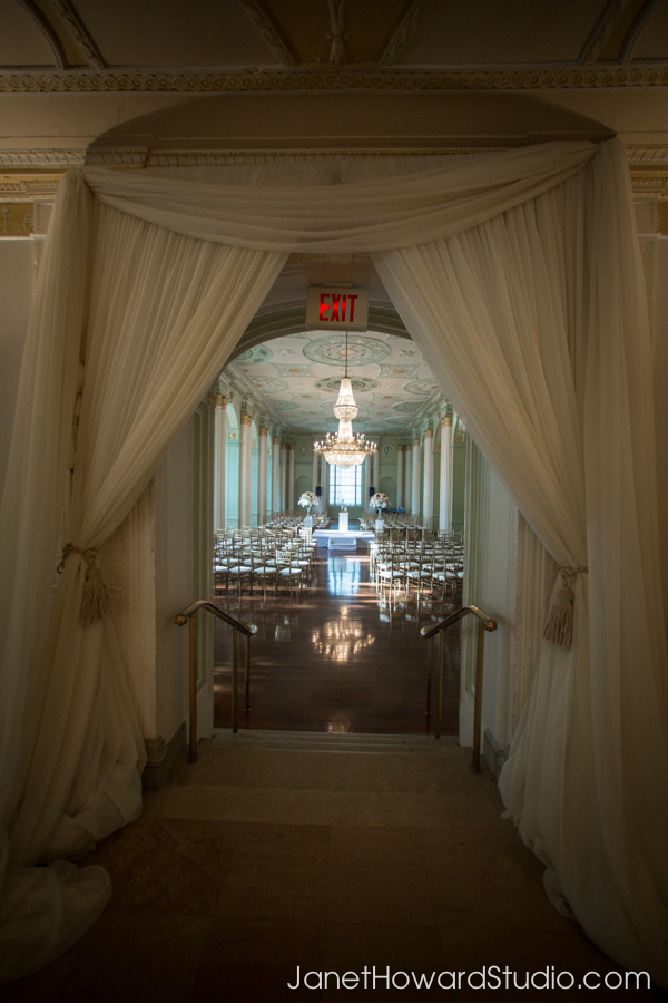 Wedding Ceremony at Biltmore Ballrooms Atlanta