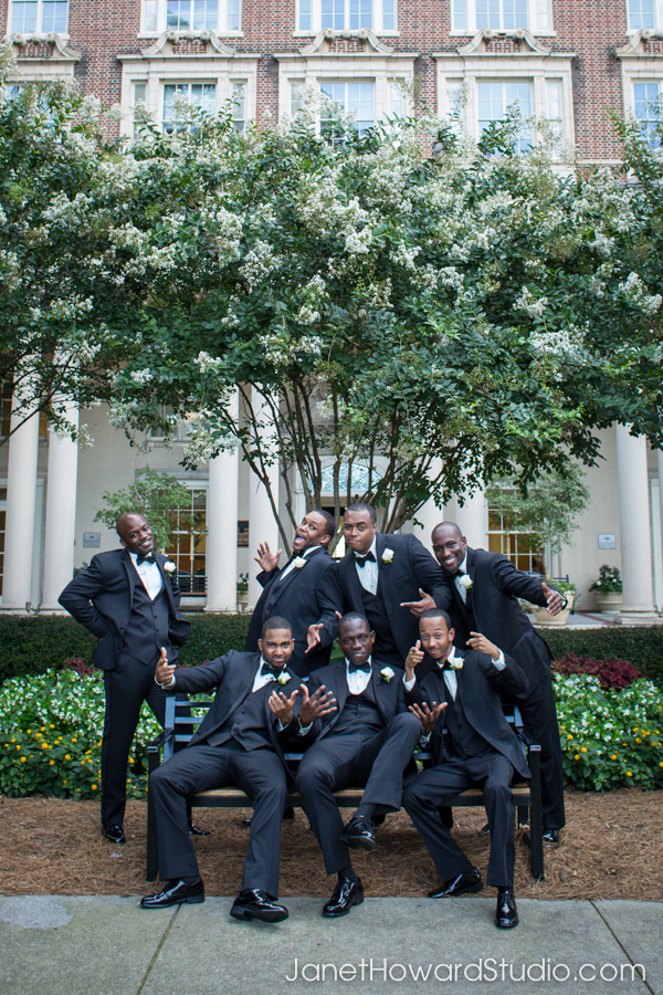 Groomsmen at the Biltmore