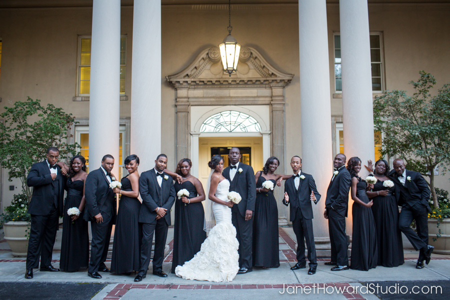 Wedding party at The Biltmore Atlanta
