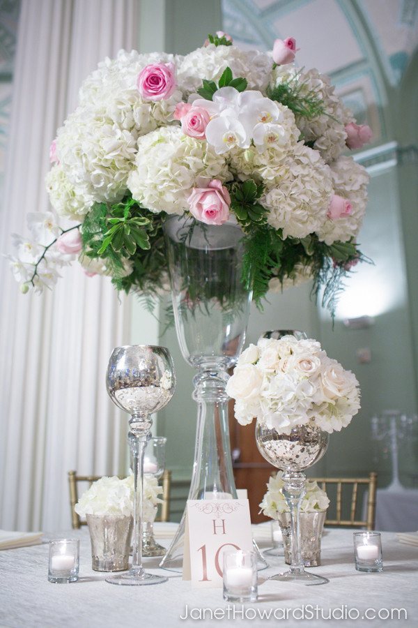 wedding florals by Edge Design Group