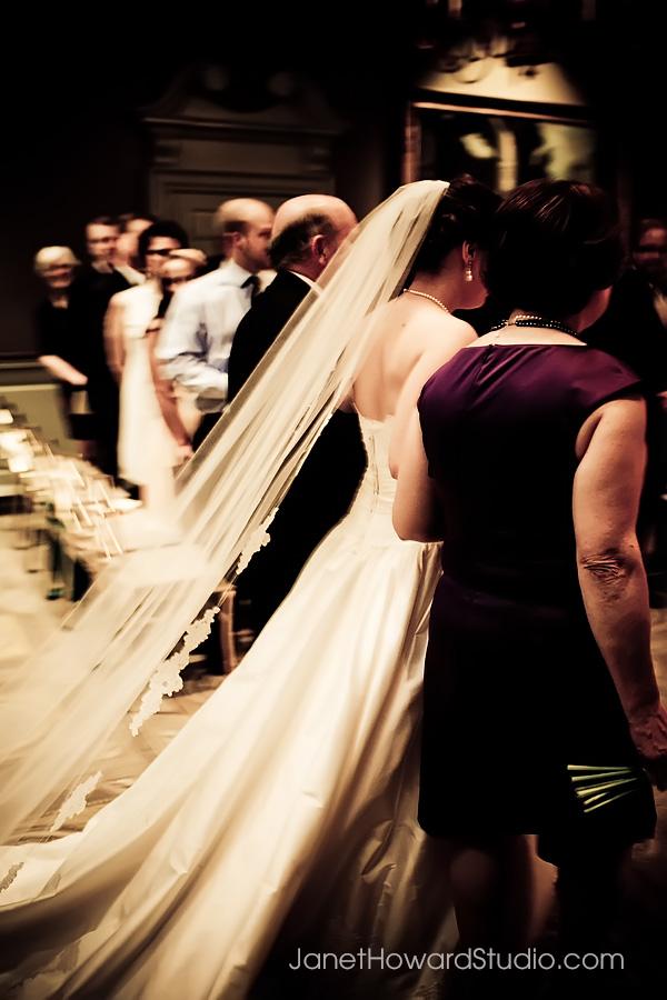 Wedding ceremony at Piedmont Driving Club