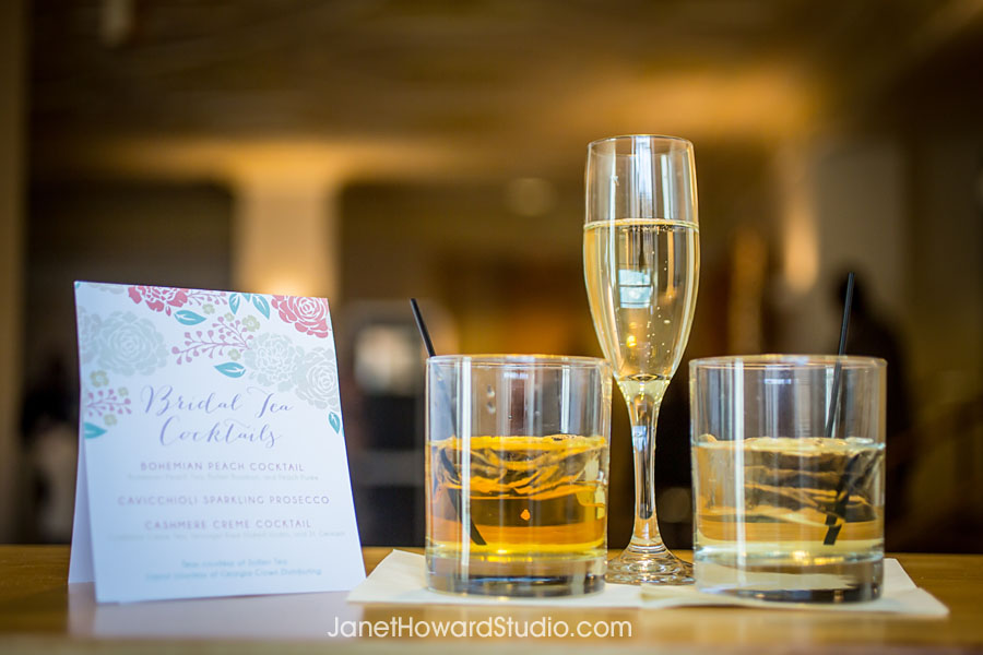 Bridal Tea specialty cocktails