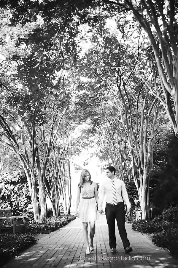 Atlanta Botanical Gardens Engagement Session