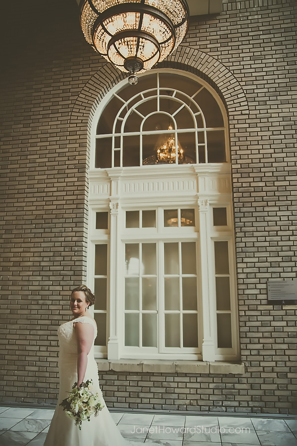 Bride at Georgian Terrace Atlanta