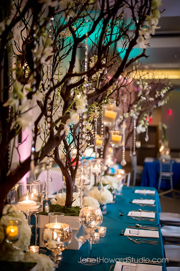 Wedding reception decor by F&G Weddings, Edge Design