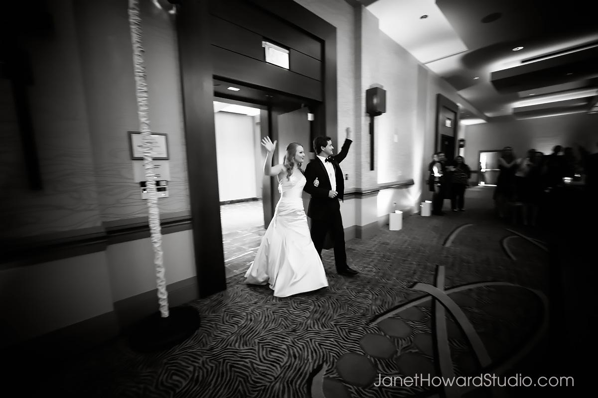 Wedding reception at Renaissance Midtown Atlanta