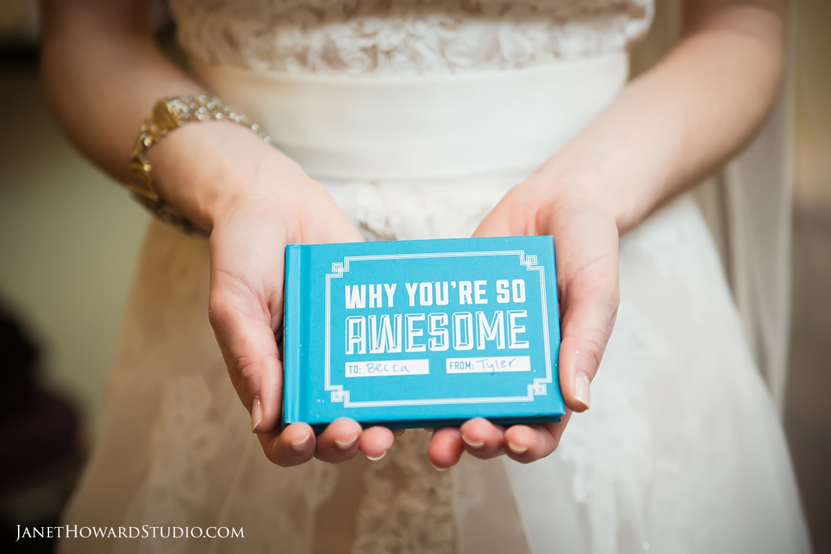 Bride's Gift: Why You're So Awesome book