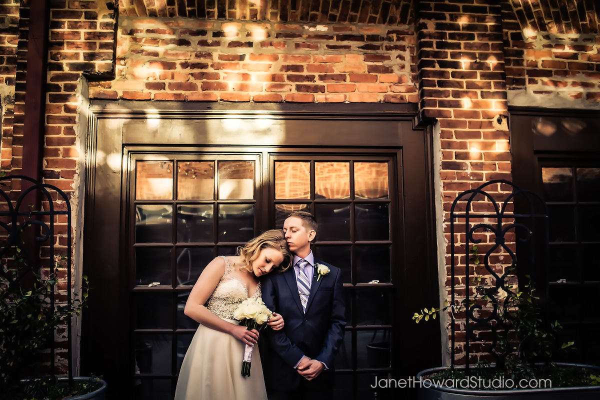 Bride and Groom photos at The Melting Point