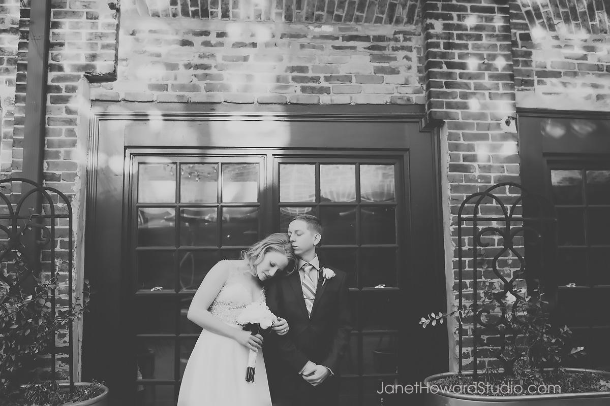 Wedding portrait at Graduate Athens