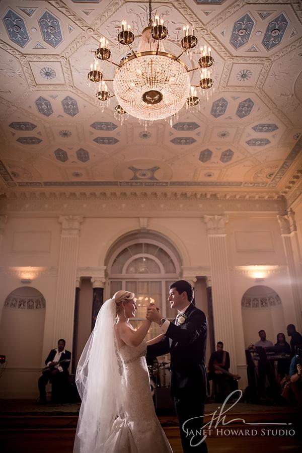 Wedding reception at the Biltmore Ballrooms Atlanta