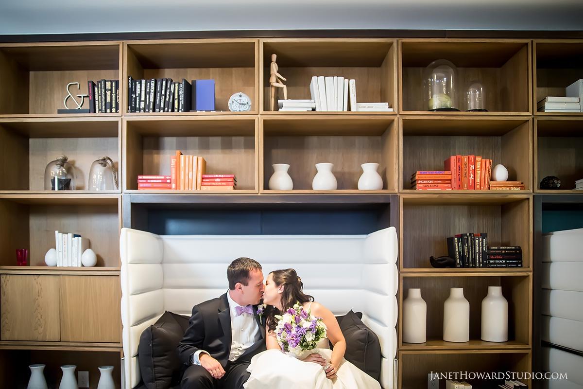 Wedding portraits at LeMeridien Atlanta