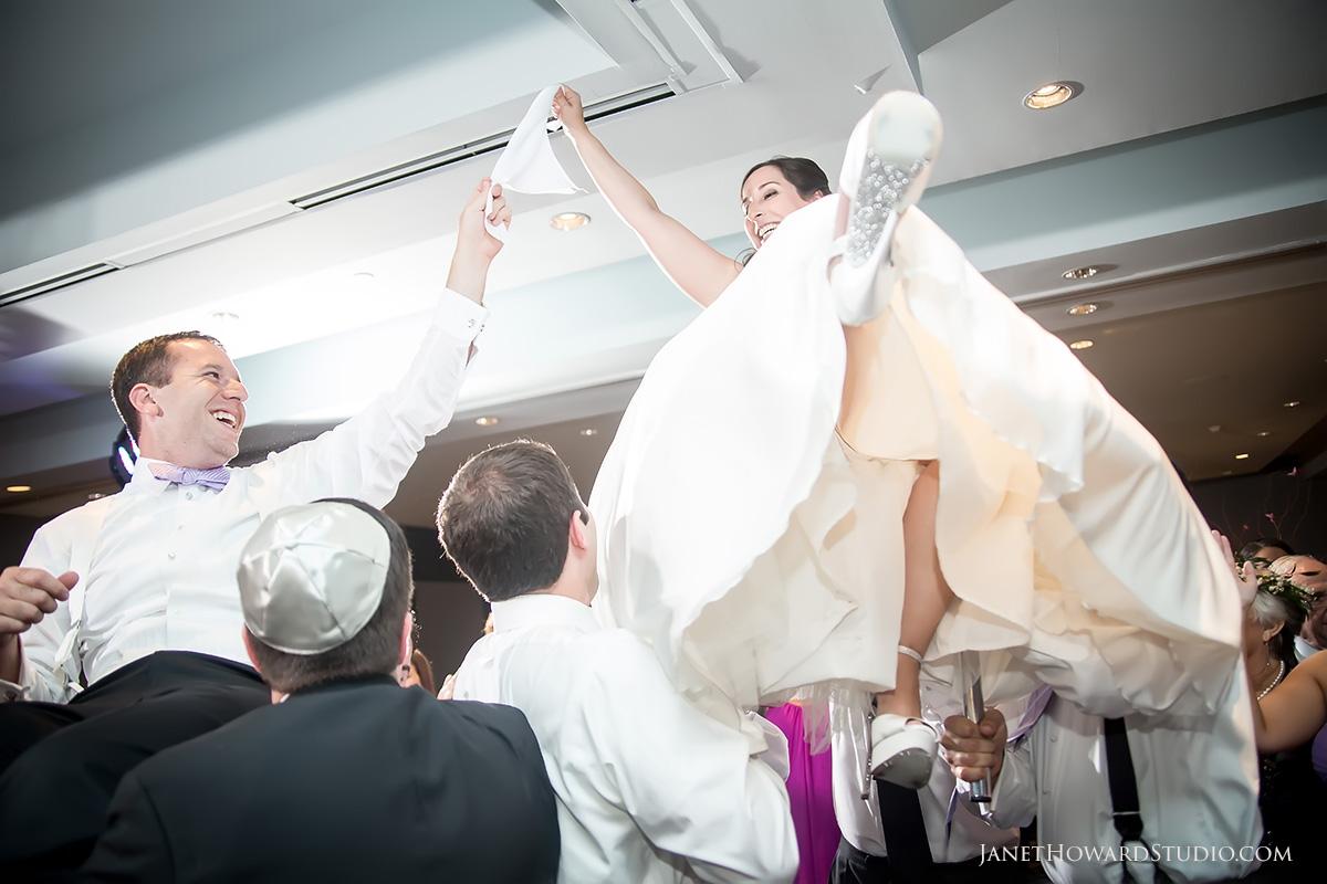 Hora during Wedding Reception at Le Meridien Atlanta