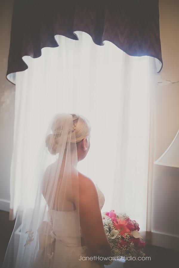 Bride portraits at Grace United Methodist in Atlanta
