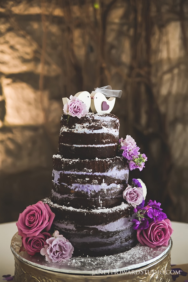 Naked cake by Sugar Benders
