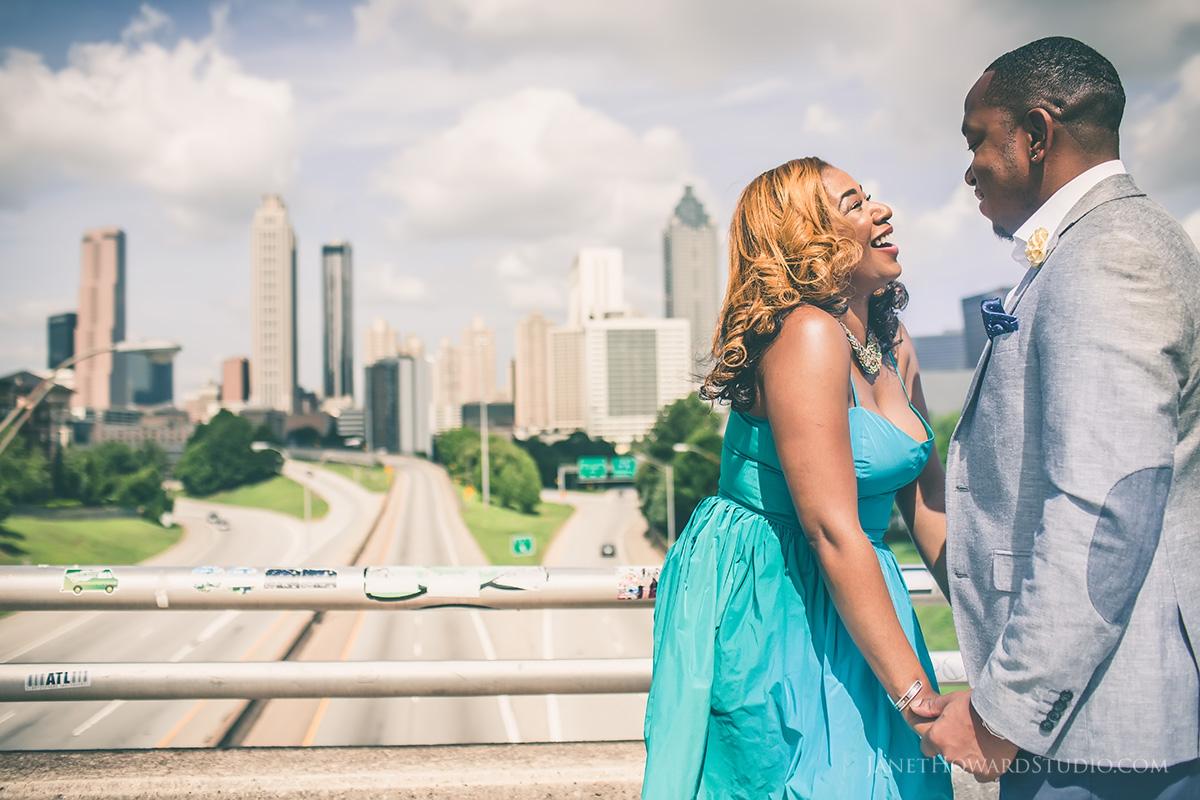 Atlanta Engagement Portraits by Janet Howard Studio