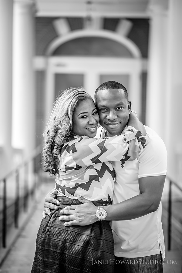 Atlanta Engagement Portraits by Janet Howard Studio