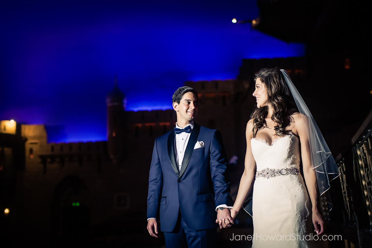Bride and Groom at the Fox Theater
