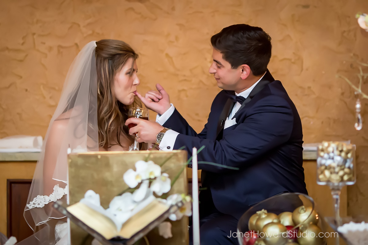 Persian wedding ceremony at the Fox Theater