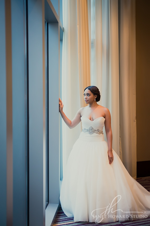 Bride at Loews Atlanta