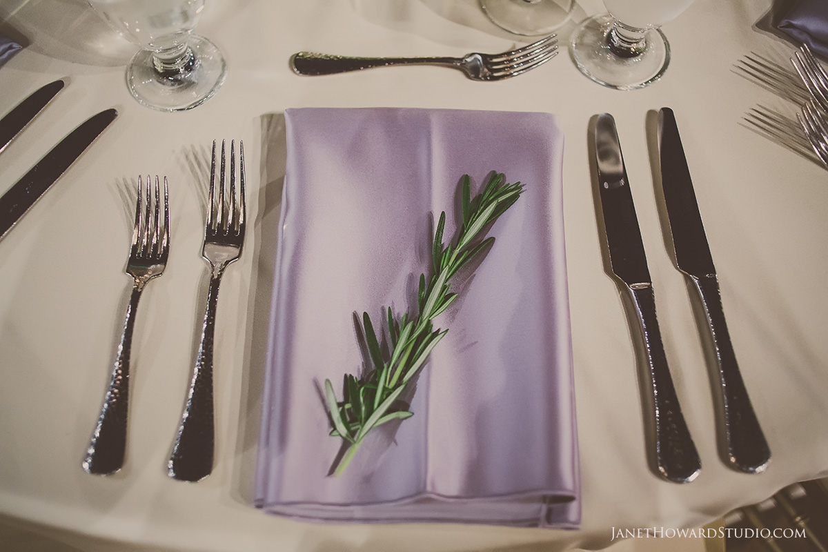 rosemary table setting