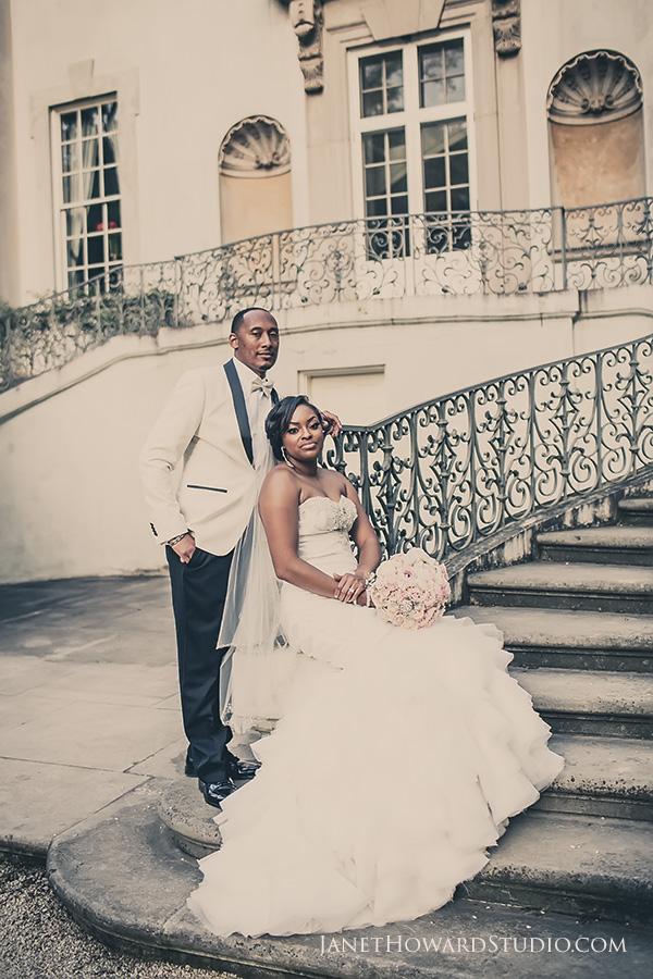 Wedding at the Swan House at Atlanta History Center by Janet Howard Studio