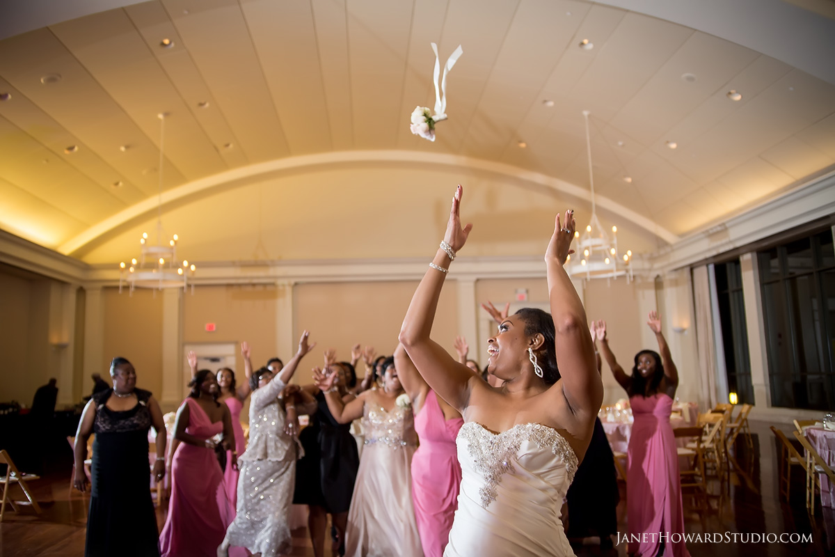 Wedding reception at Atlanta History Center