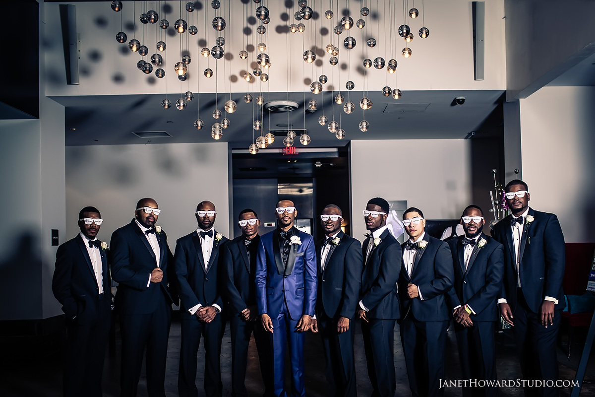 Groomsmen | Wedding photos at W Midtown Atlanta