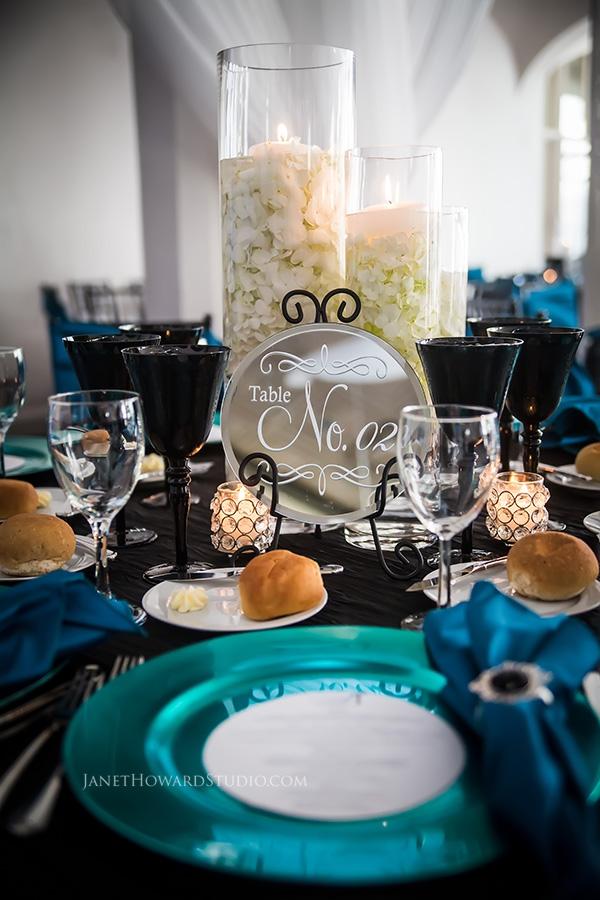 Callanwolde wedding reception decor