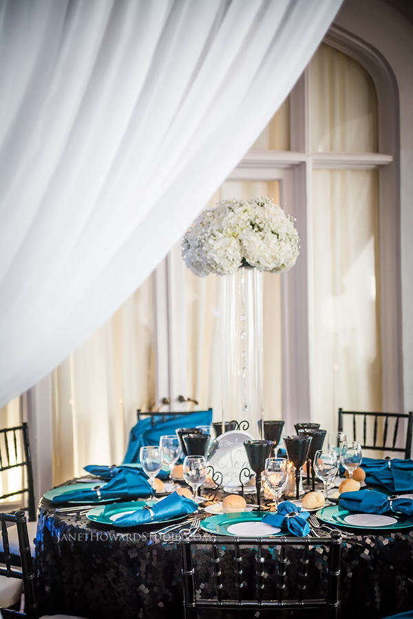 Callanwolde wedding reception decor