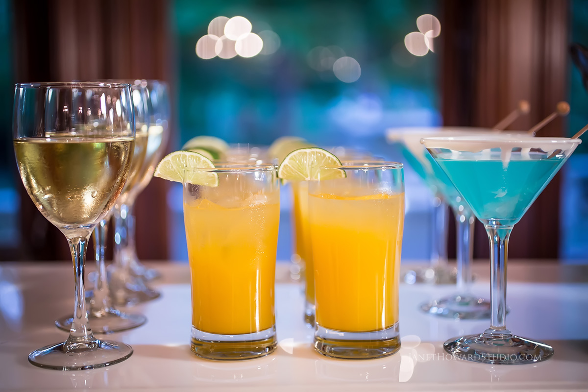 Wedding signature drinks