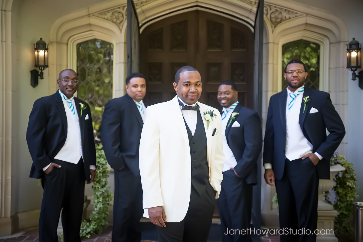 Groomsmen at Callanwolde