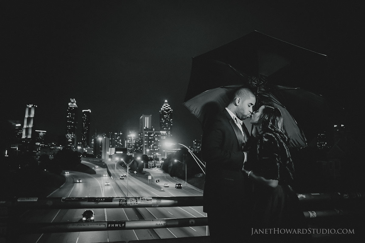 Jackson Street Bridge Engagement Photos