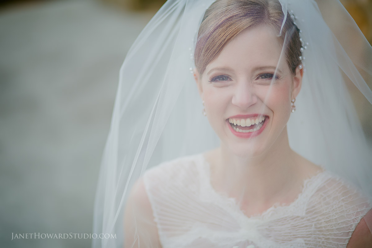 Bride Portrait with Veil