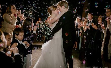 Wedding Bubble Departure