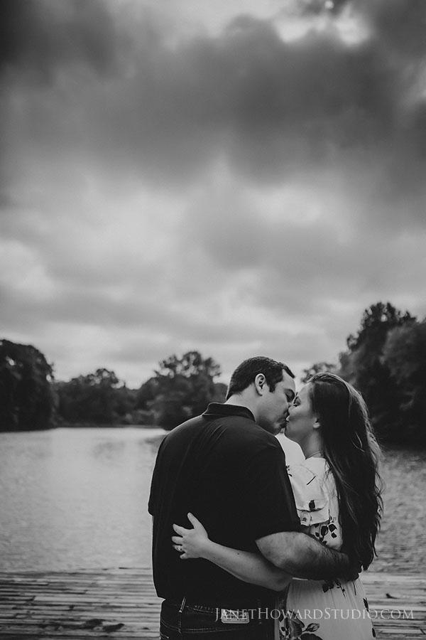 Engagement photos at Piedmont Park