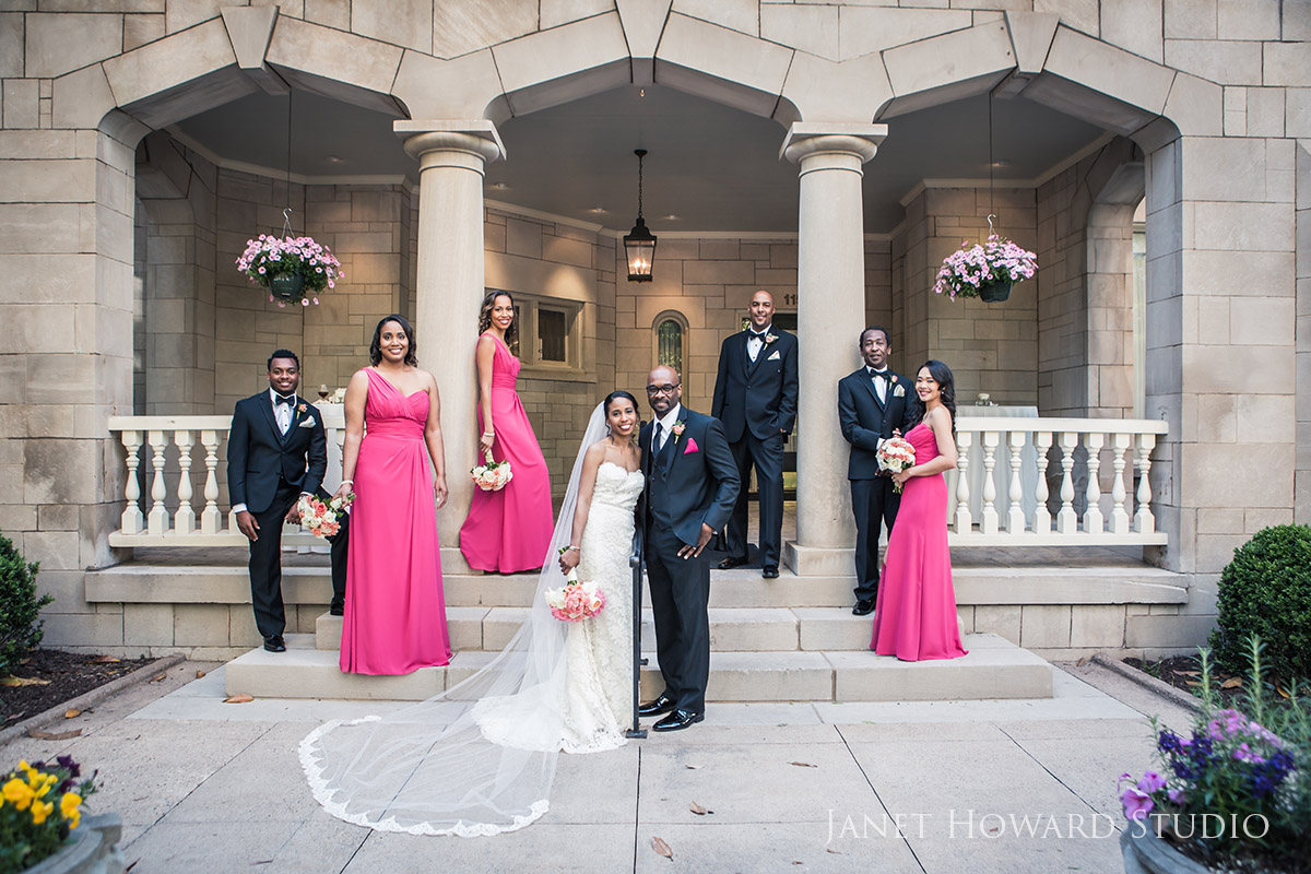 Wedding at the Wimbish House in Atlanta