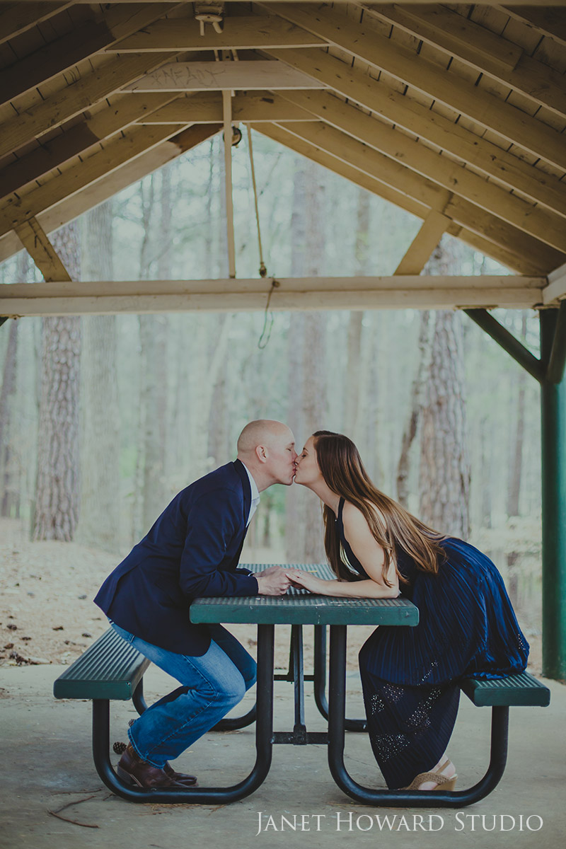 Engagement Photos at Murphey Candler Park