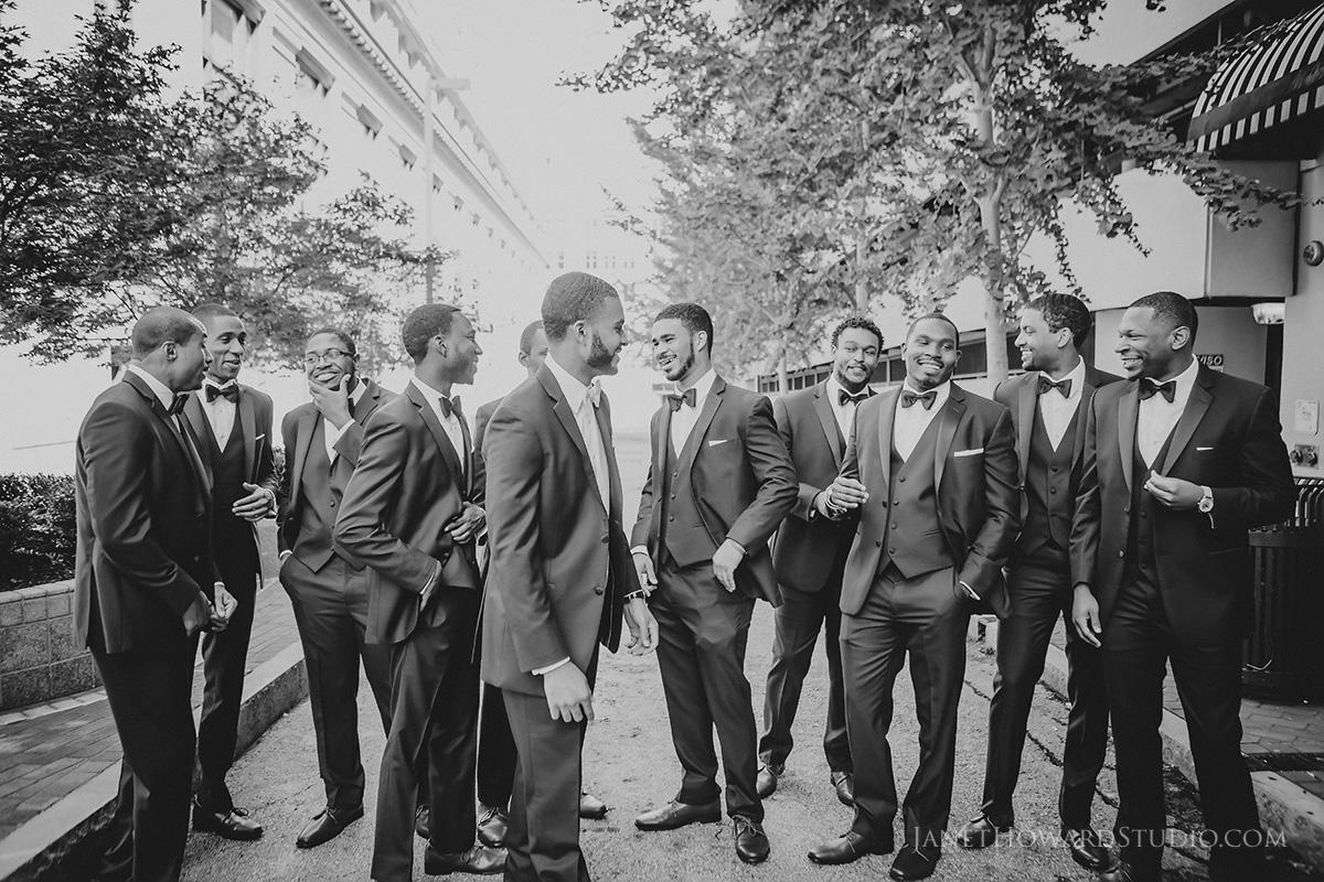 Groomsmen at the Venetian Room Atlanta