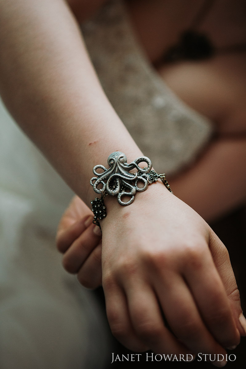 Pirate themed Bridal jewelry