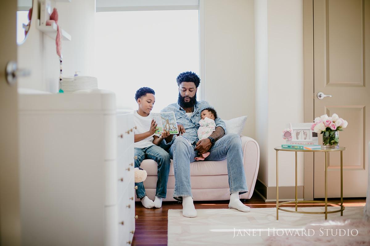 Atlanta lifestyle family photography