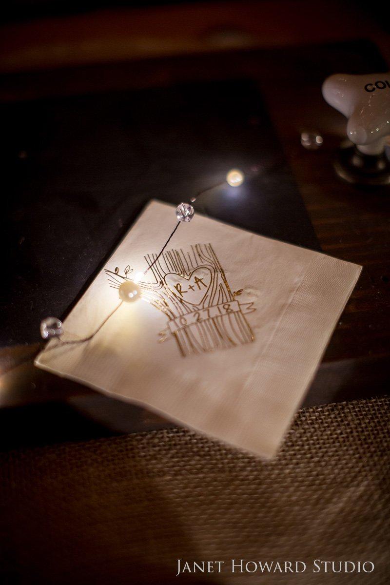 Wedding bar details