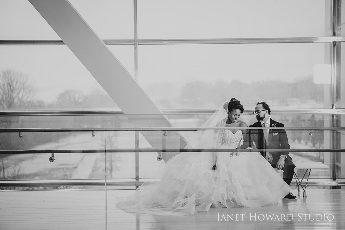 Clinton Library Wedding