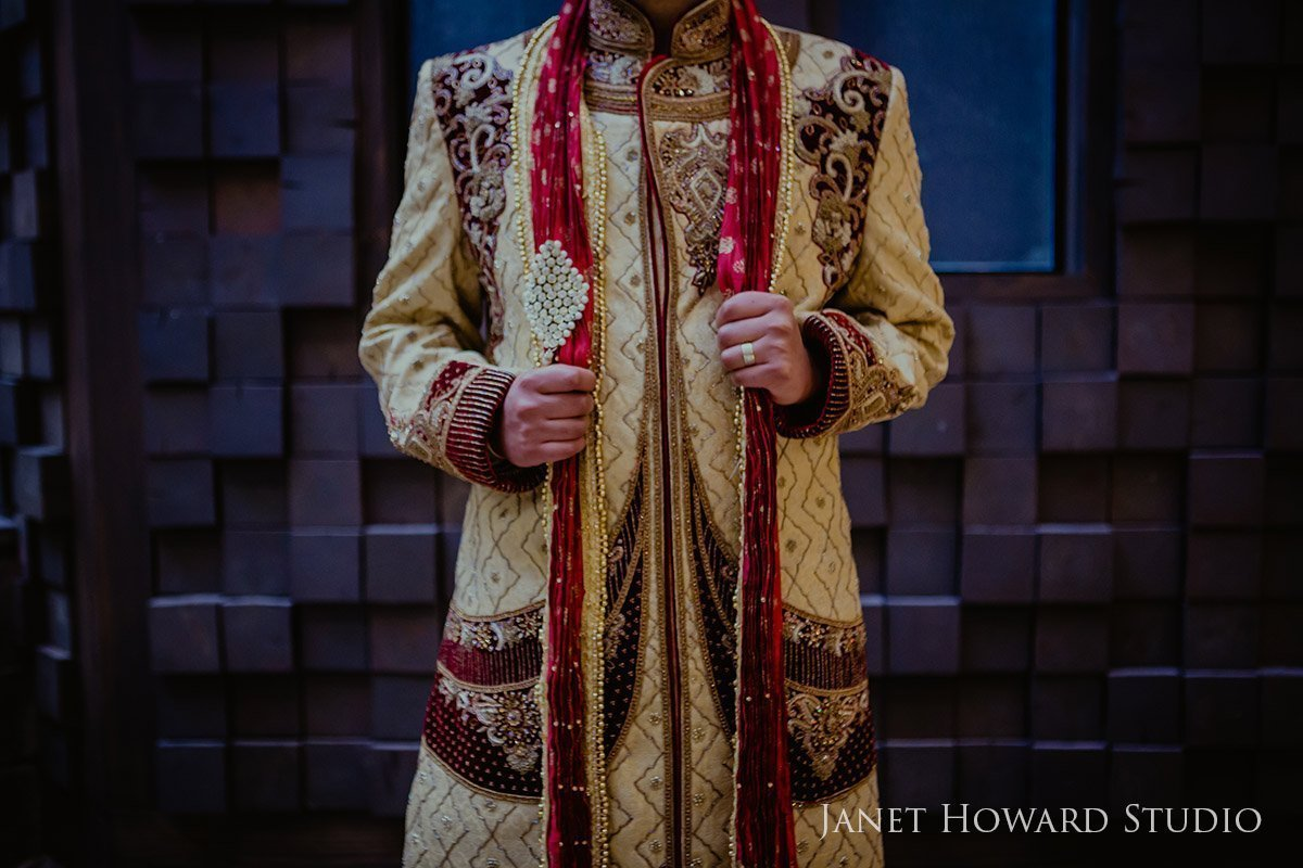 Indian groom attire