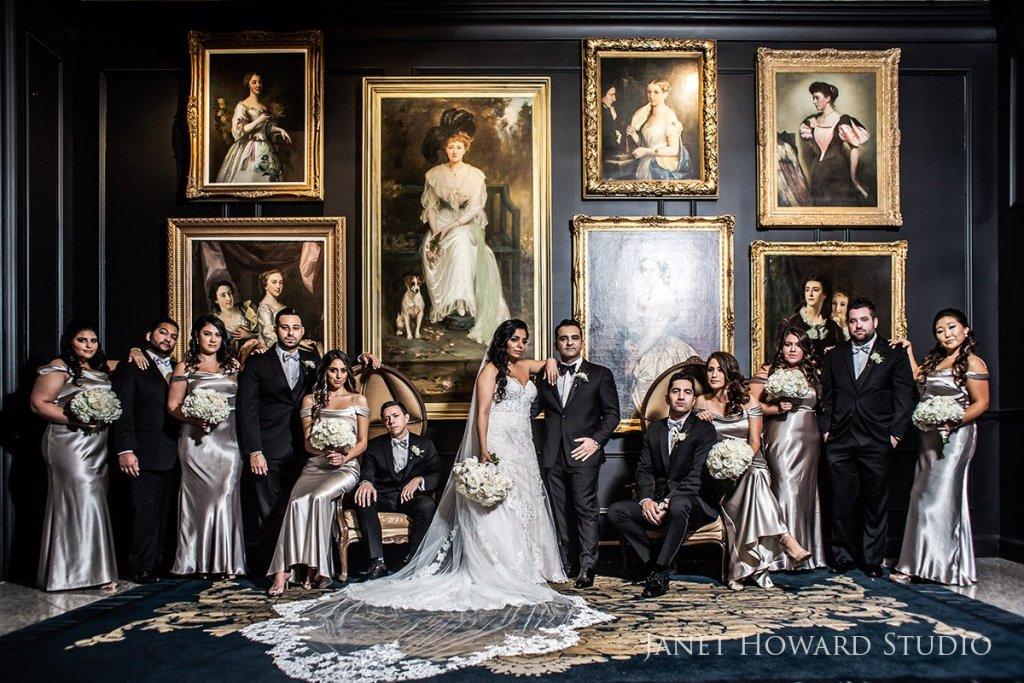 Bridesmaids and Groomsmen at the Ritz-Carlton Atlanta