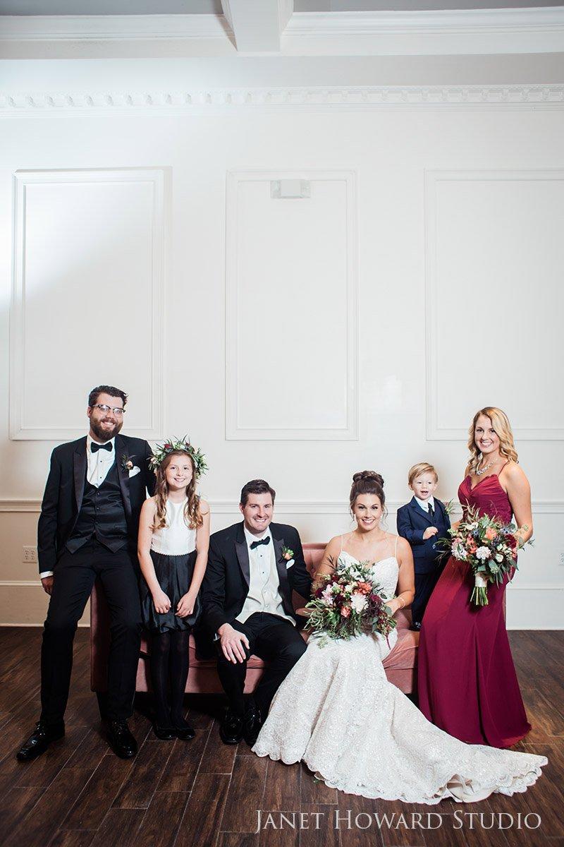 Family Wedding Portraits at the The Estate, Buckhead, GA