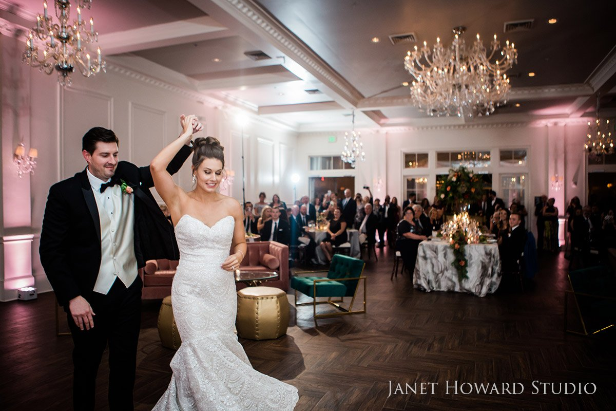 Bride and Groom First Dance at The Estate in Buckhead, Georgia